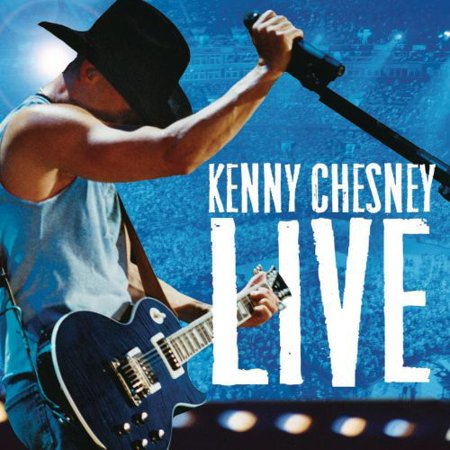 Kenny Chesney Live (CD) (Kenny Chesney Halloween)