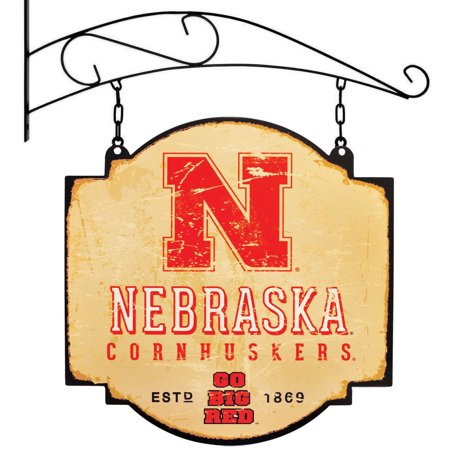 "Nebraska Cornhuskers 16"" x 16"" Tavern Sign - Cream - No Size"