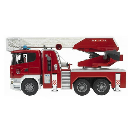 Bruder Toys Scania R Series Fire Engine Truck with Working Water Pump 03590 - Toys R Us Reno