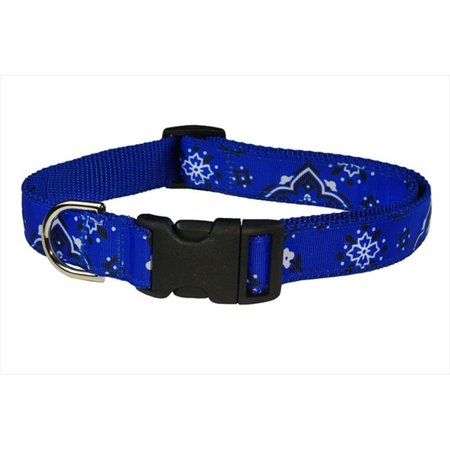Sassy Dog Wear Bandana Blue3 C Bandana Dog Collar  44  Blue   Medium