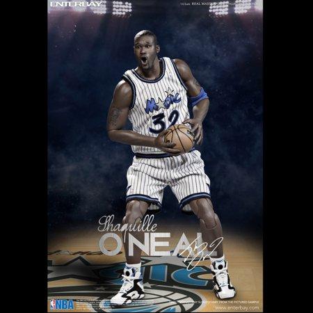 c1da41c7a08 Enterbay X Shaquille O Neal LA Lakers Magic Real Masterpiece NBA 1 6 Action  Figures Figurine Collection RM-1063 (Gift Idea) - Walmart.com