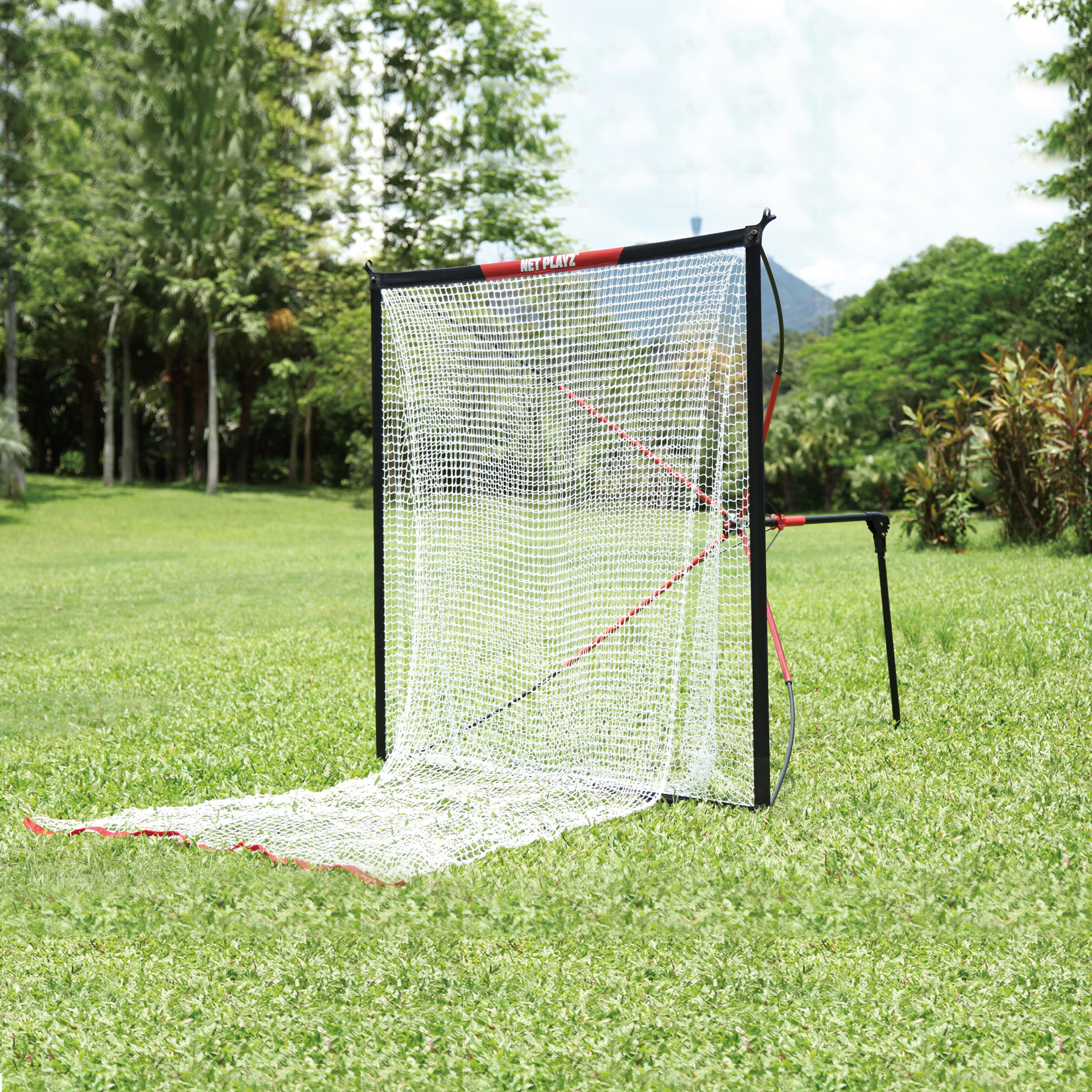 Net Playz 30s Quick Set Up Baseball and Softball Hitting Net