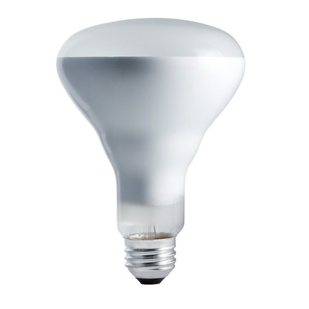248849 - 65BR30/FL55 130V BR30 Reflector Flood Spot Light Bulb, Color/Finish: Frosted By - Frosted Reflector Floodlights