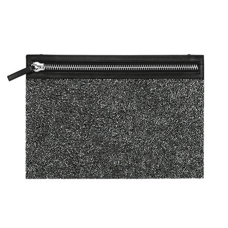 Swarovski Dark Grey Crystals GLAM ROCK BAG Evening Party Bag (Swarovski Bag)
