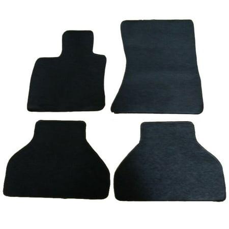 Fits 09-14 BMW X6 4Dr OEM Factory Fitment Car Floor Mats Front & Rear Nylon