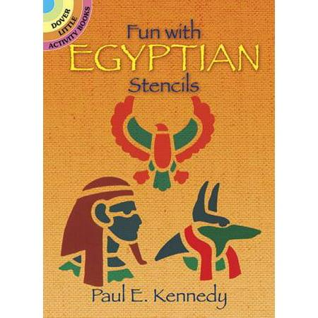 Fun with Egyptian Stencils (Dover Little Activity Books) Stencil Activity Book