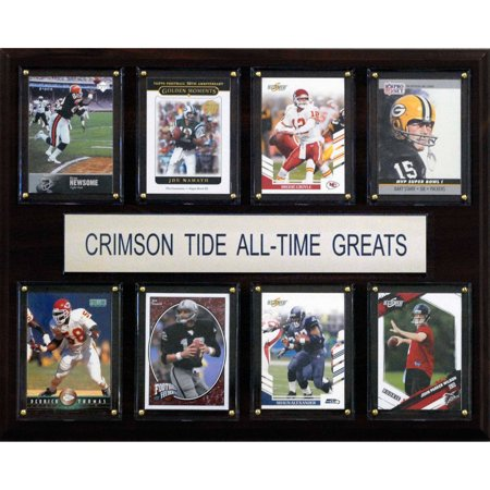 C Collectables Ncaa Football 12X15 Alabama Crimson Tide All Time Greats Plaque