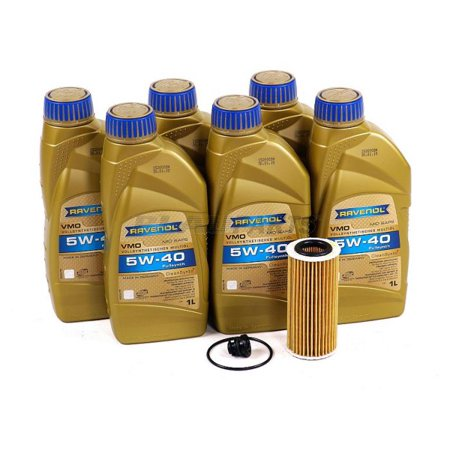 Blau J1A5120-D VW Jetta VI Motor Oil Change Kit - 2014-17 w/ 4 Cylinder 1.8T Engine - 5w40