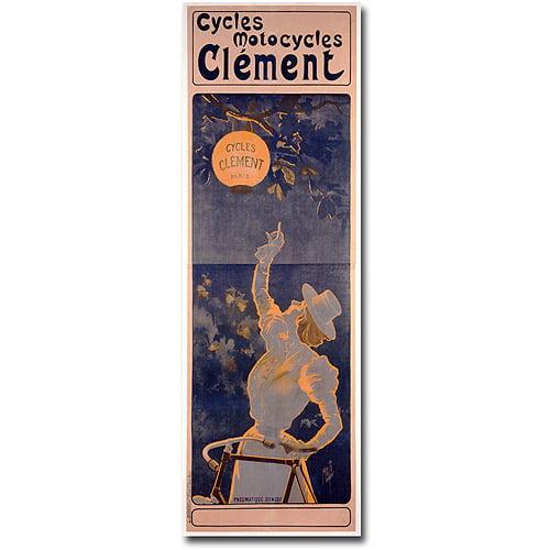 "Trademark Art ""Cycles Clement, 1895"" Canvas Wall Art by Ferdinand Misti"