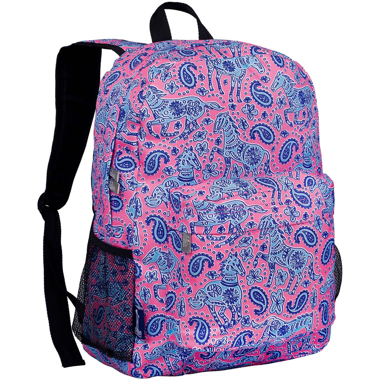 Watercolor Ponies Pink Crackerjack Backpack