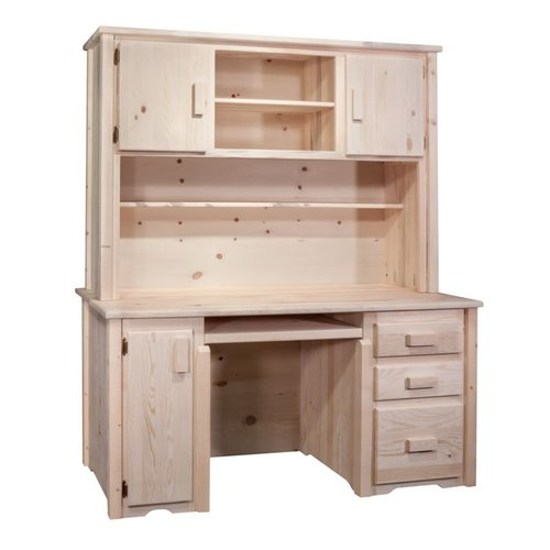 Montana Woodworks MWHCDH Homestead Desk with Hutch