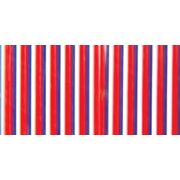 Pepperell Rexlace Plastic Lacing, 0.0938-Inch, Patriotic Multi-Colored