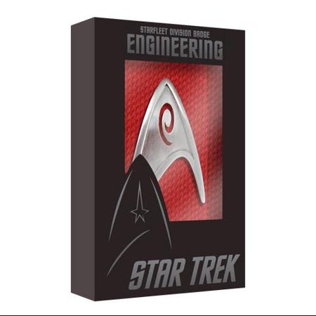 Star Trek Starfleet Engineering Division Badge Replica