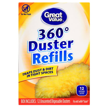 Great Value 360⁰ Duster Refills, 12 - Double Duster Refill