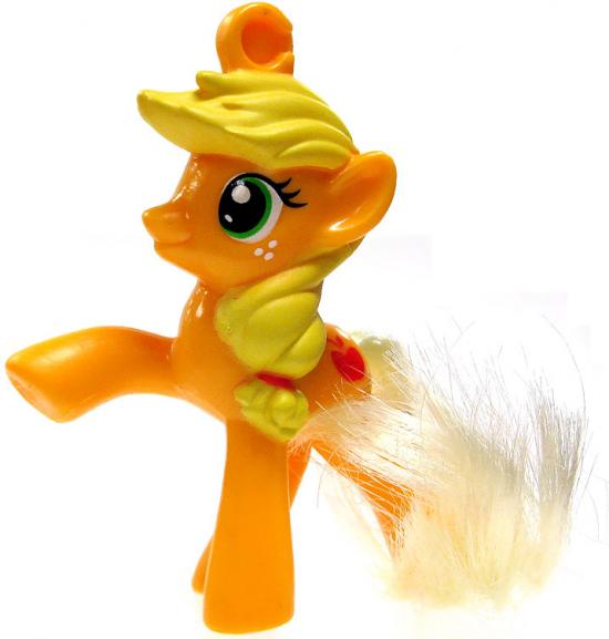My Little Pony Happy Meal Applejack Clip On Toy by