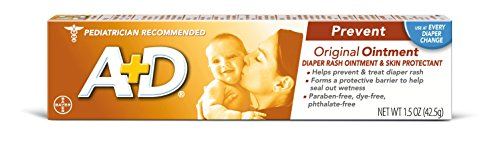 3 Pack A+D Original Ointment Diaper Rash Ointment & Skin Protectant 1.5 Oz Each by A%26d