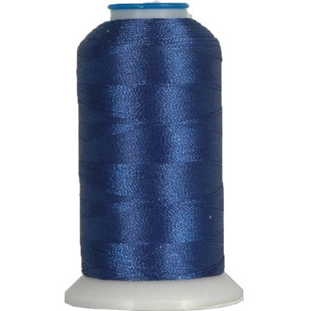 Embroidery Bobbin - Threadart 60 Weight Micro Embroidery & Bobbin Thread - 1000m Spools - 30 Colors Available - Blue