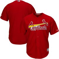 MLB St Louis Cardinals Adult Button - Down Jersey