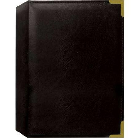 Pioneer Oxford Brass Corner Series Photo Album (Black)