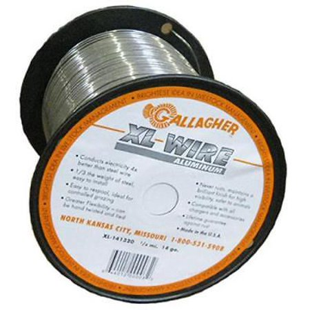 1/4 Mile 14 Gauge Aluminum Wire Fence User Friendly Wire Will Not Rust Never Rust Aluminum Wire