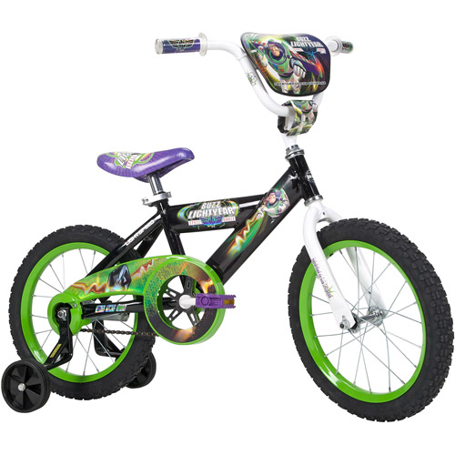 "16"" Disney Toy Story Boys' Bike, Black"