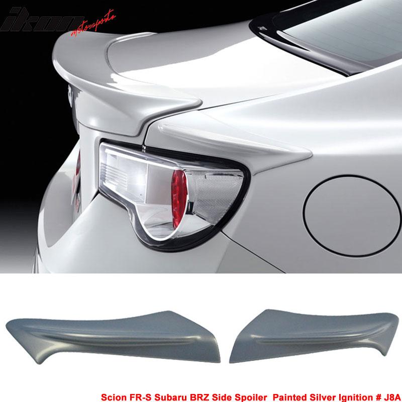 Fits 13-17 Scion FRS GT86 FT86 Subaru BRZ Trunk Side Spoiler (ABS)
