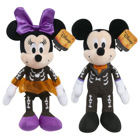 Halloween Stuffed Animals Bulk (Disney Halloween Bean Plush- Skeleton Mickey and)