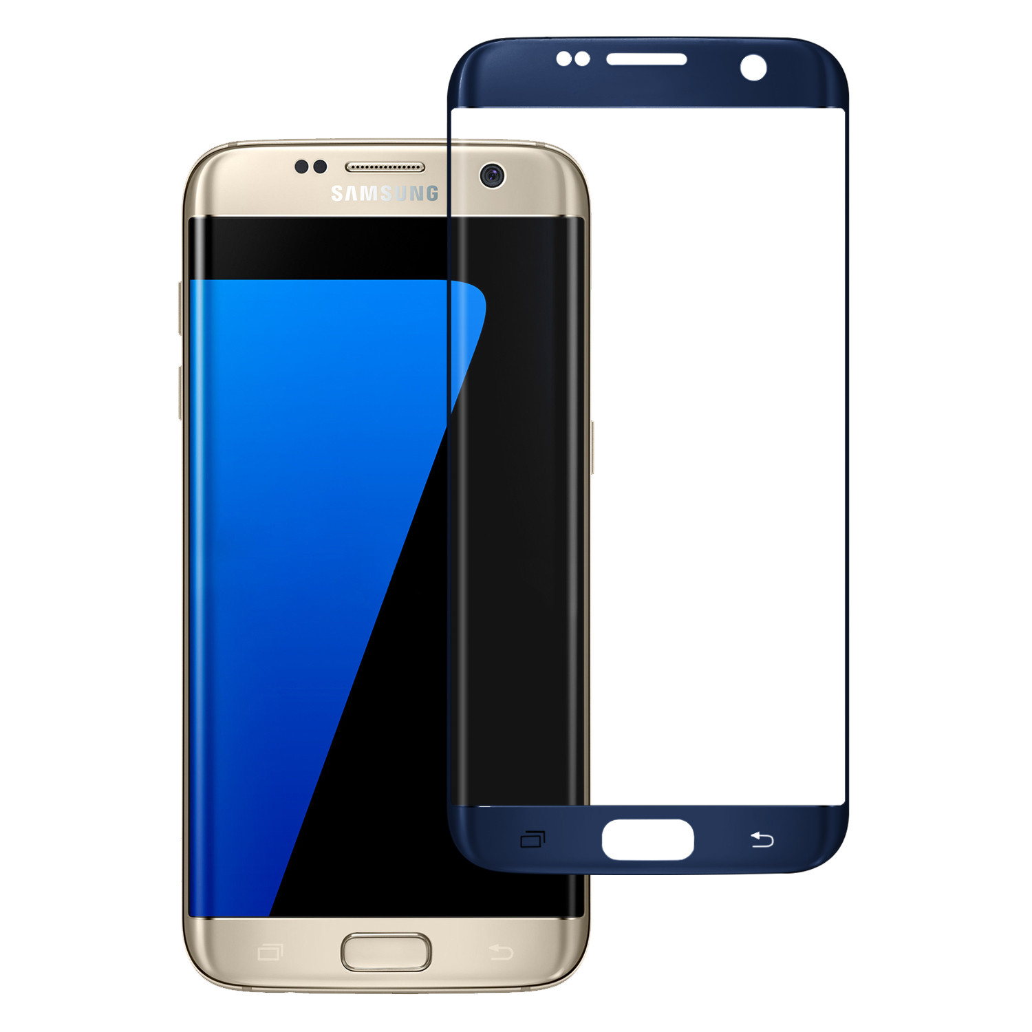 Samsung Galaxy S7 Edge Premium HD Temper Glass Ultra Thin Scratch Free Screen Protector for Galaxy S7 Edge - Clear