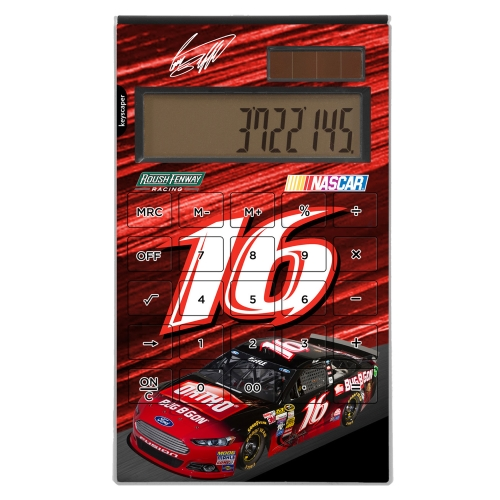 Greg Biffle Desktop Calculator - No Size