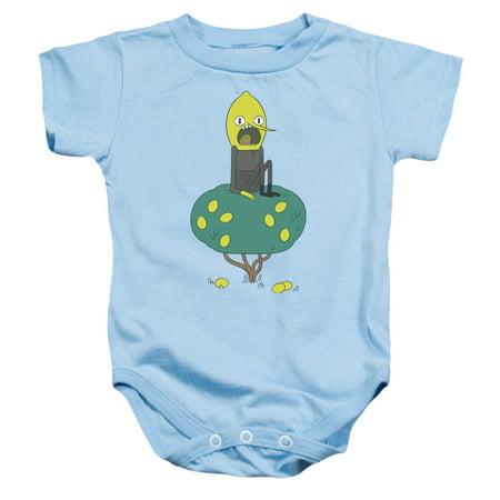 Adventure Time Boys' Lemongrab Bodysuit Light Blue](Adventure Time Onesie)