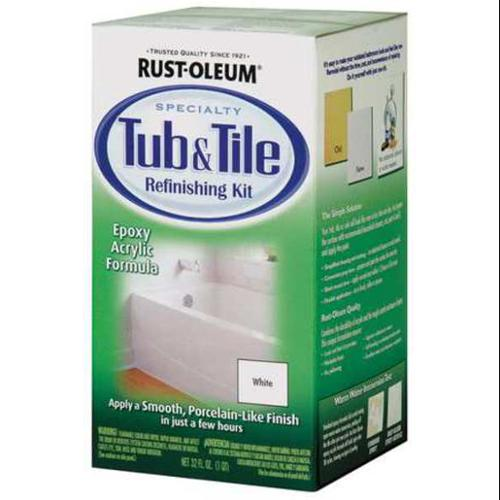 Specialty Tub and Tile Refreshing Kit, White 7860519