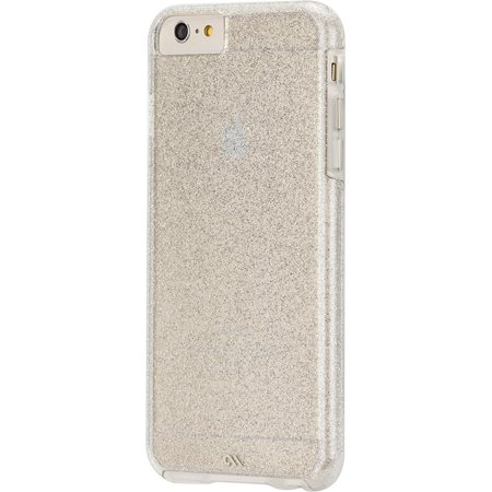New in Box OEM Case Mate Glam Dual-layer Clear Shell Case+Bumper For iPhone 6/6s