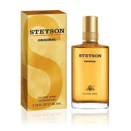 Stetson Original Cologne Spray for Men, 2.25 fl