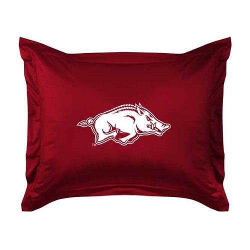 Arkansas Jersey Material Pillow Sham