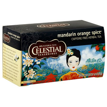 Celestial Seasonings Mandarin Orange Spice Tea, 20ct (Pack of 6) (Intense Mandarin Orange)