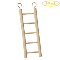 Prevue Birdie Basics Ladder 5 Rung Ladder - Pack of 3