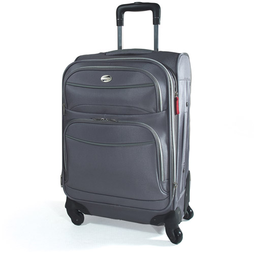 American Tourister Upright Spinner, Silver
