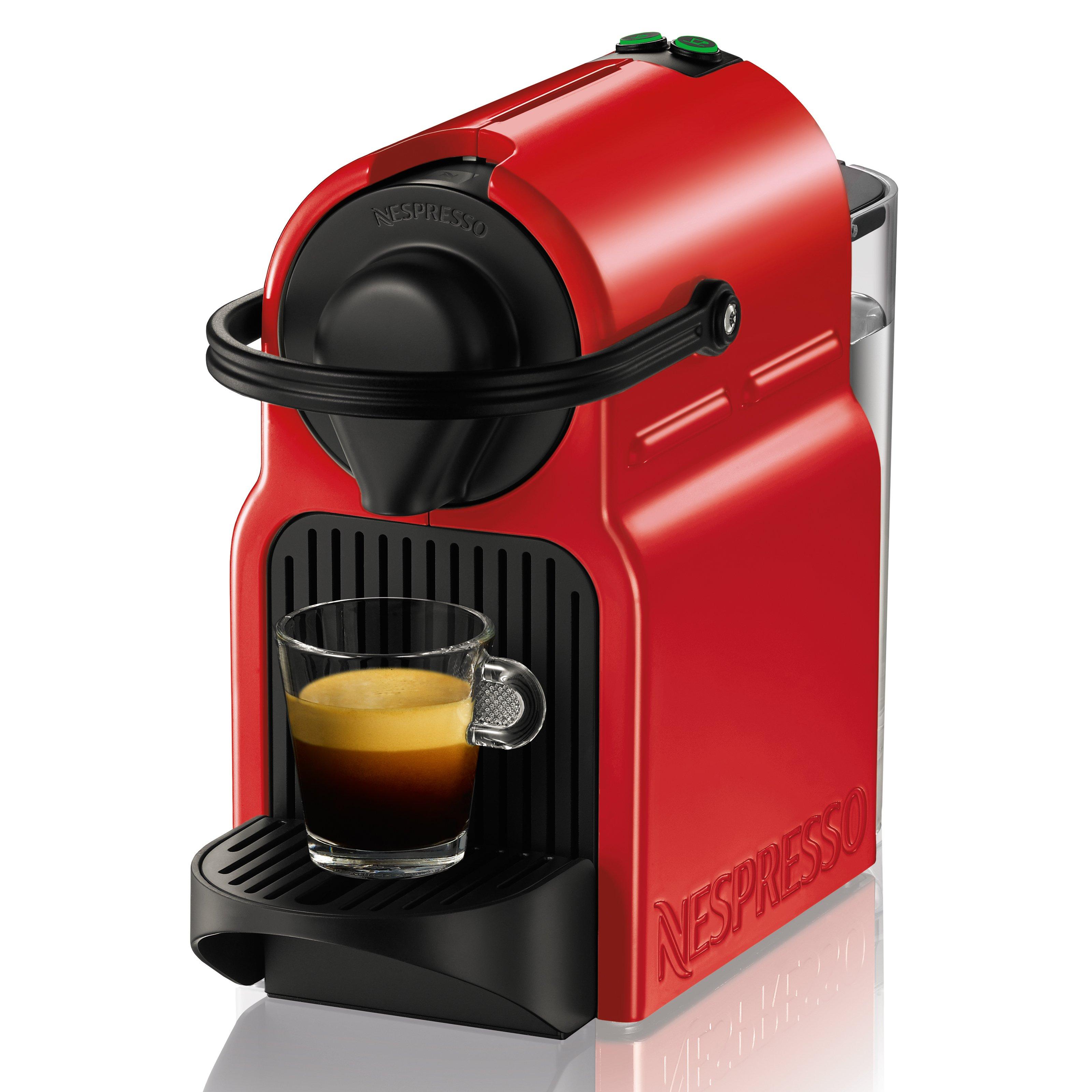 Nespresso Inissia Red Standalone Espresso Machine
