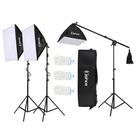 Single Softbox Kit - Zimtown Photo Studio Photography 3 Softbox Light Stand Continuous Kit Cost-Effective HOT