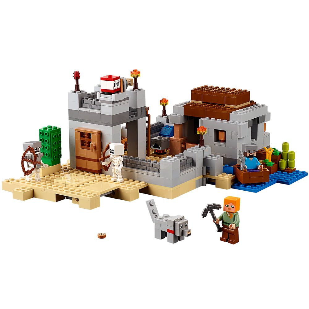 Lego Minecraft The Desert Outpost 21121 by Lego