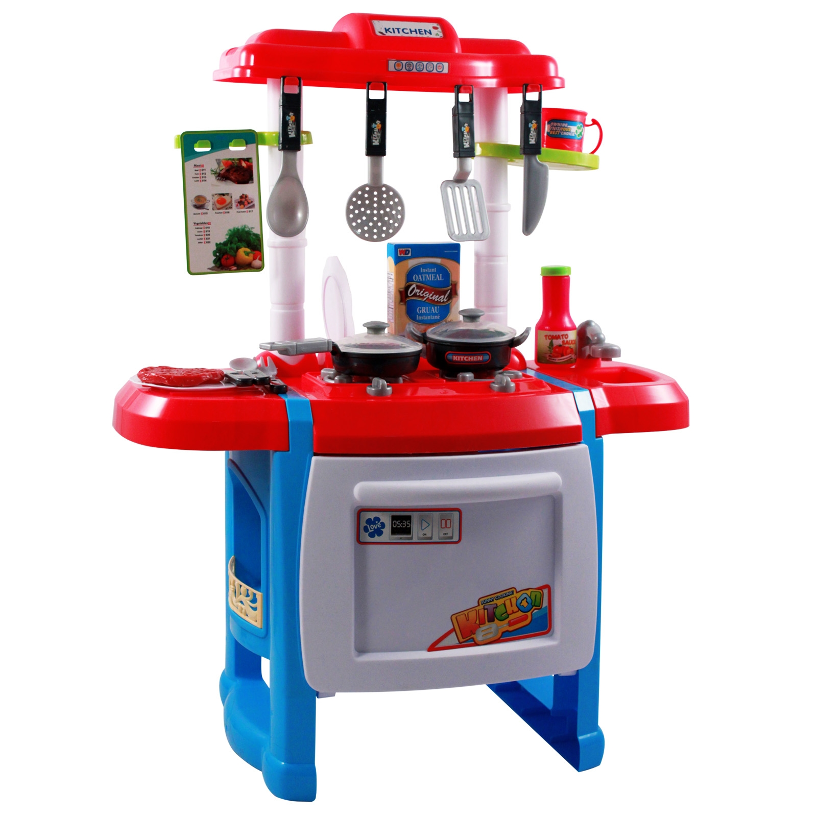 Jumbo Childrens Toy Kitchen Oven Play Set