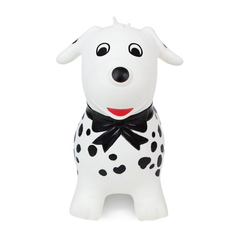 Waddle! Dalmatian Dog Bouncer! Inflatable Ride on Toy - Bouncy Toys For Toddlers