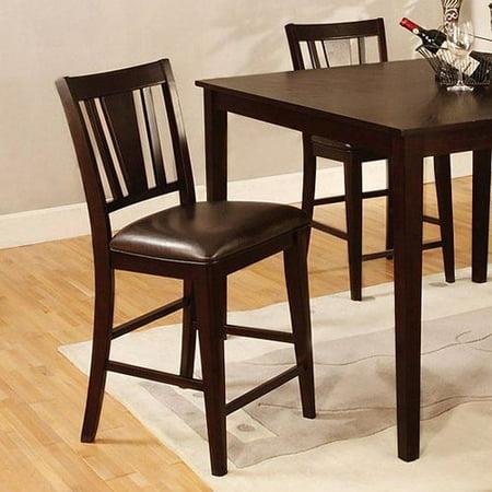 Furniture Of America CM3325PC 2PK Bridgette Counter Height