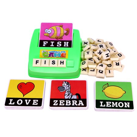 English Spelling Alphabet Letter Game Early Learning ...