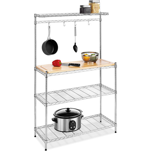 Whitmor Supreme Chrome Baker's Rack