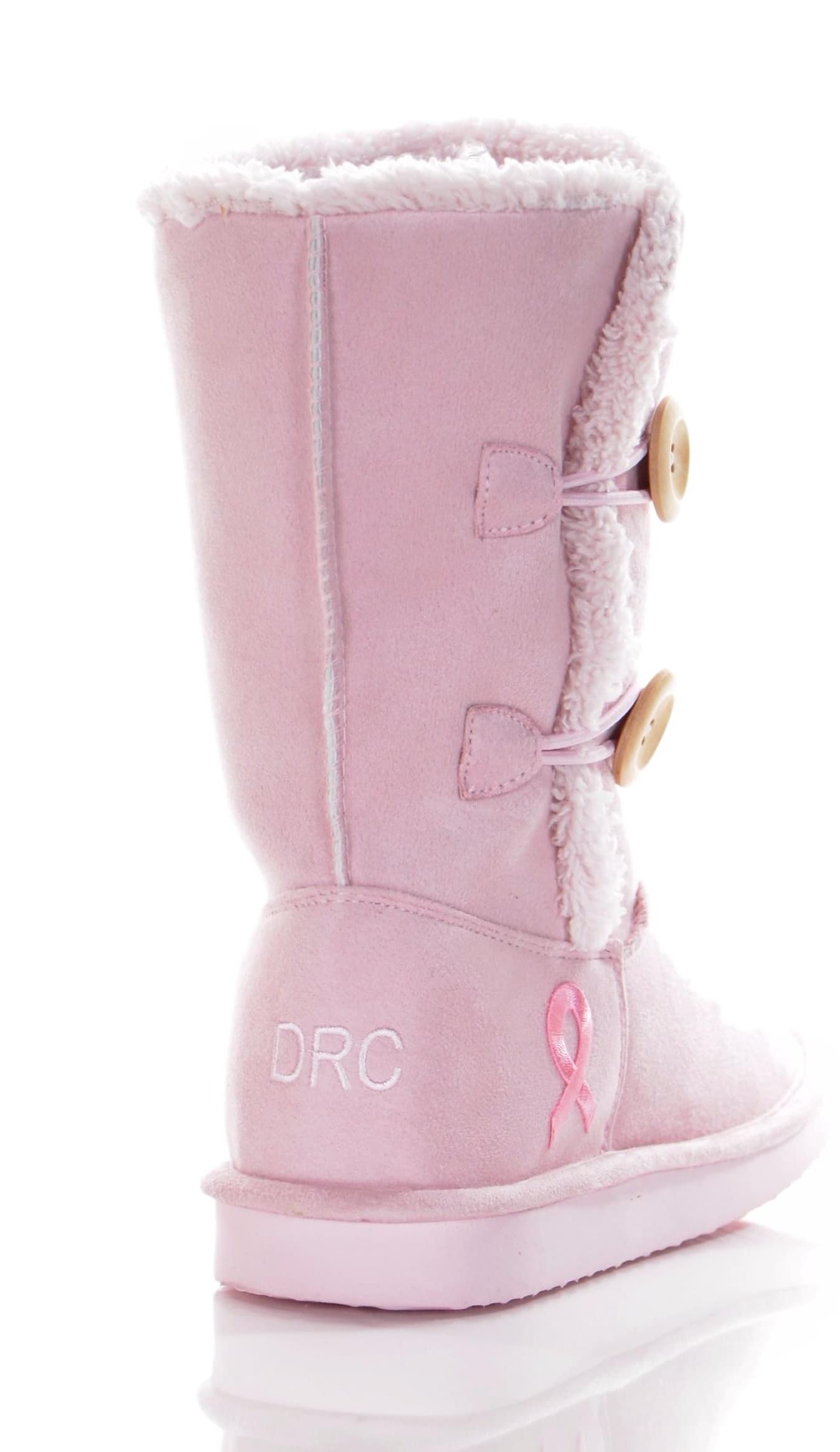 Dr. Comfort Tonya Women's Slipper Boot Pink