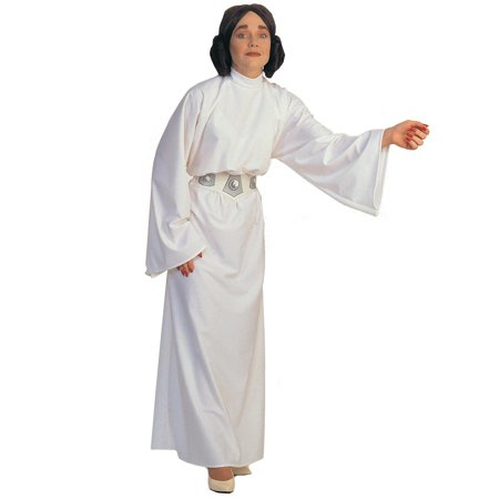 Star Wars-Princess Leia Adult - Princess Leia White Robe