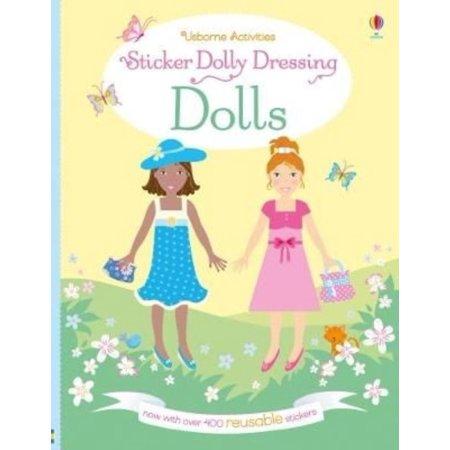 Dressing Dolls Book (Sticker Dolly Dressing Dolls)