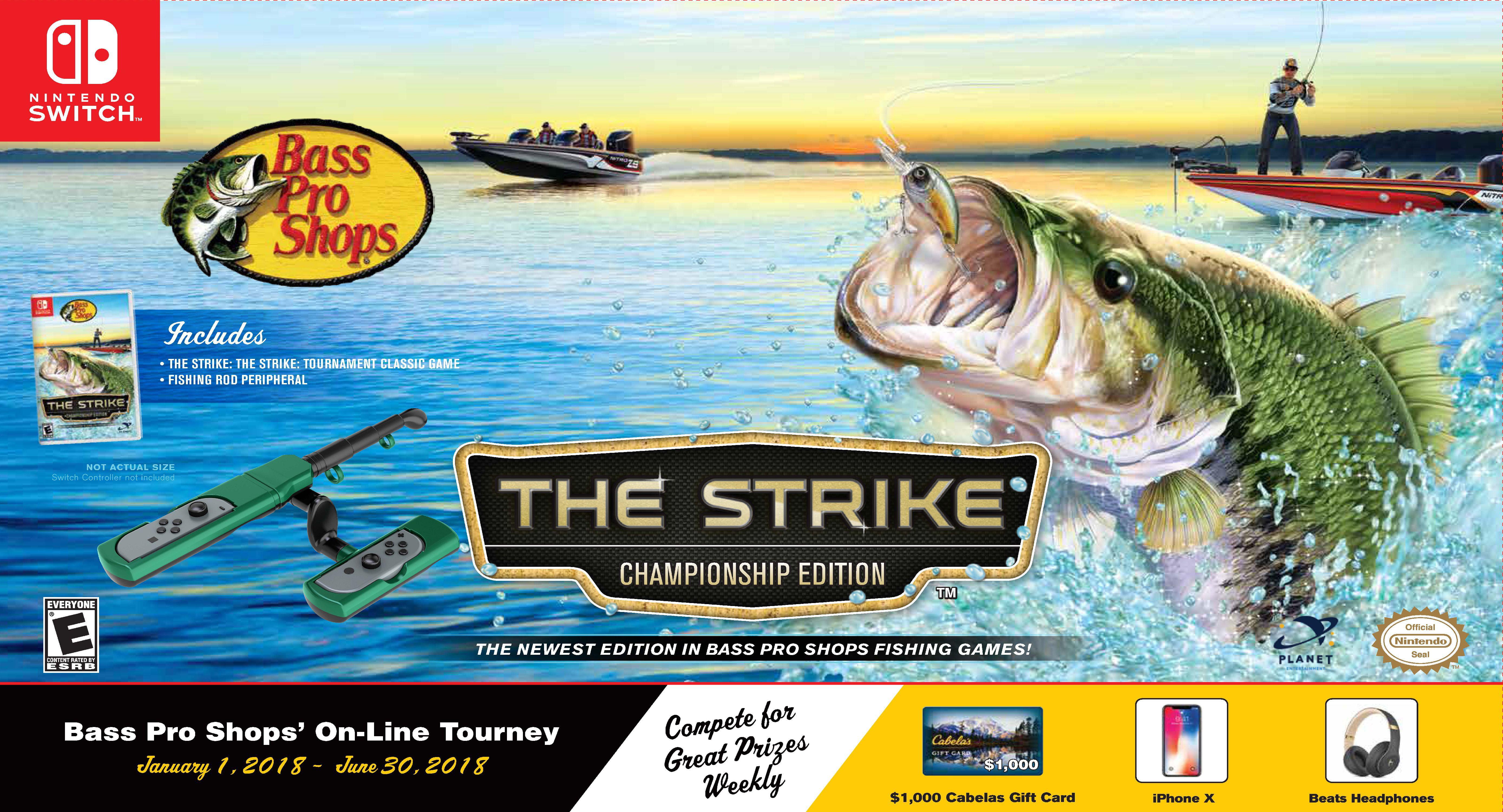 Bass Pro Shop The Strike W Fishing Rod Planet Entertainment Nintendo Switch 869323000438 Walmart Com Walmart Com