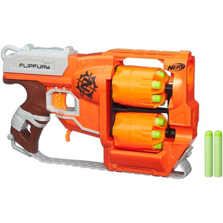 Nerf Zombie Strike Crosscut Blaster 2 In 1 Action W Spinning Foam Saw Blade